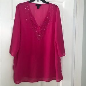 Lane Bryant tunic top
